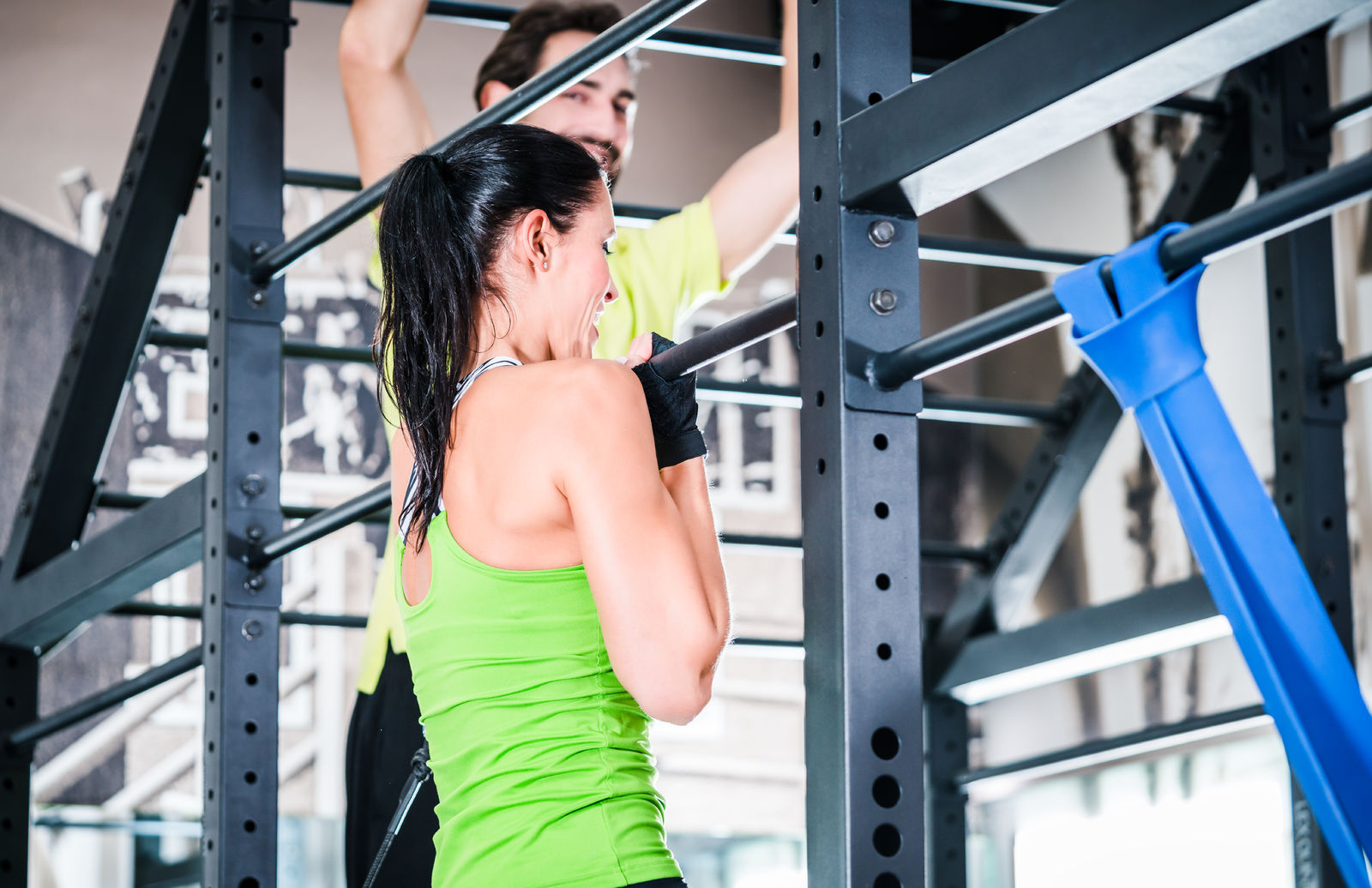 This 325 pound weighted chin-up will motivate you to become a record-setter!