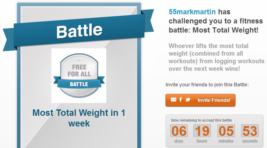 Mark Martin's Total Weight Battle Daily Giveaway Winners