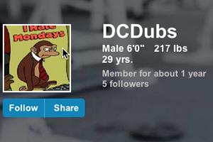 Exercise.com User Story: DCDubs