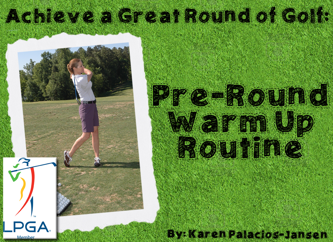Slow starter off the tee? Improve your golf score with a better warm-up!