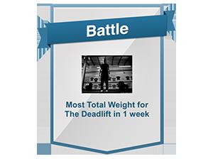 Tony Gentilcore's Deadlift Battle Daily Giveaway Winners