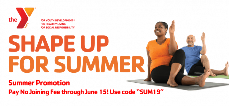 YMCA Shape Up for Summer Ad