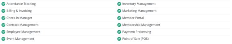 ClubReady Basic Features Screenshot