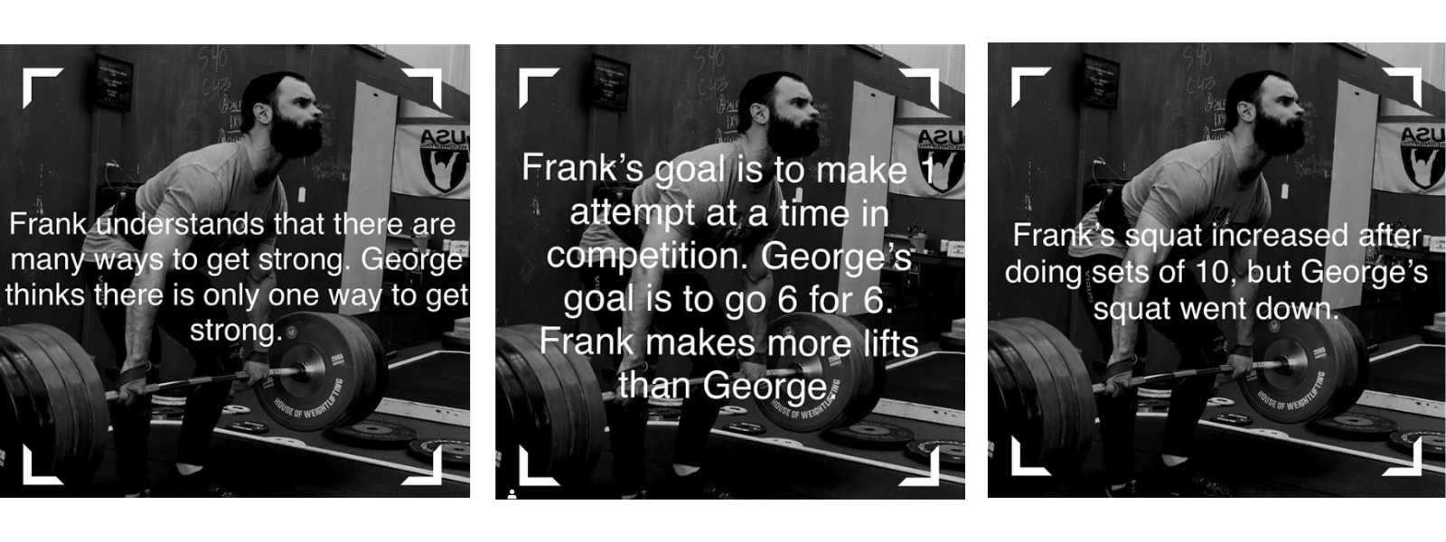 Tatum's Frank and George Meme