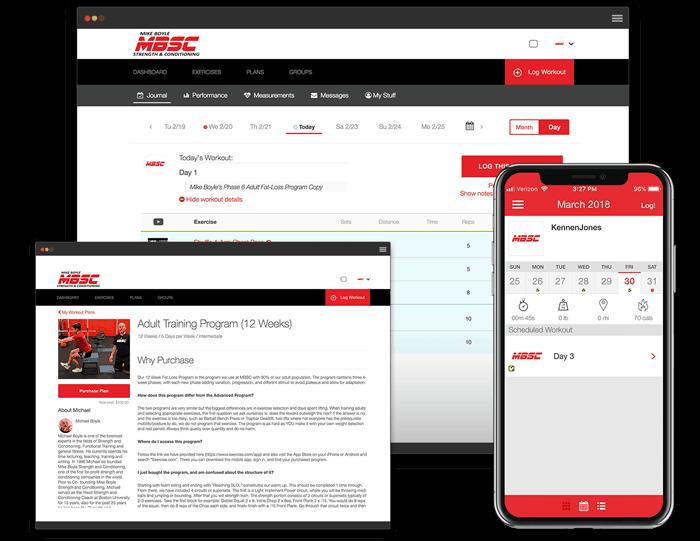 Custom app for MBSC